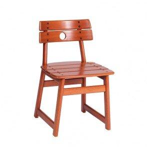 162103.55 Cadeira Tajá - Verniz EPS Jatobá